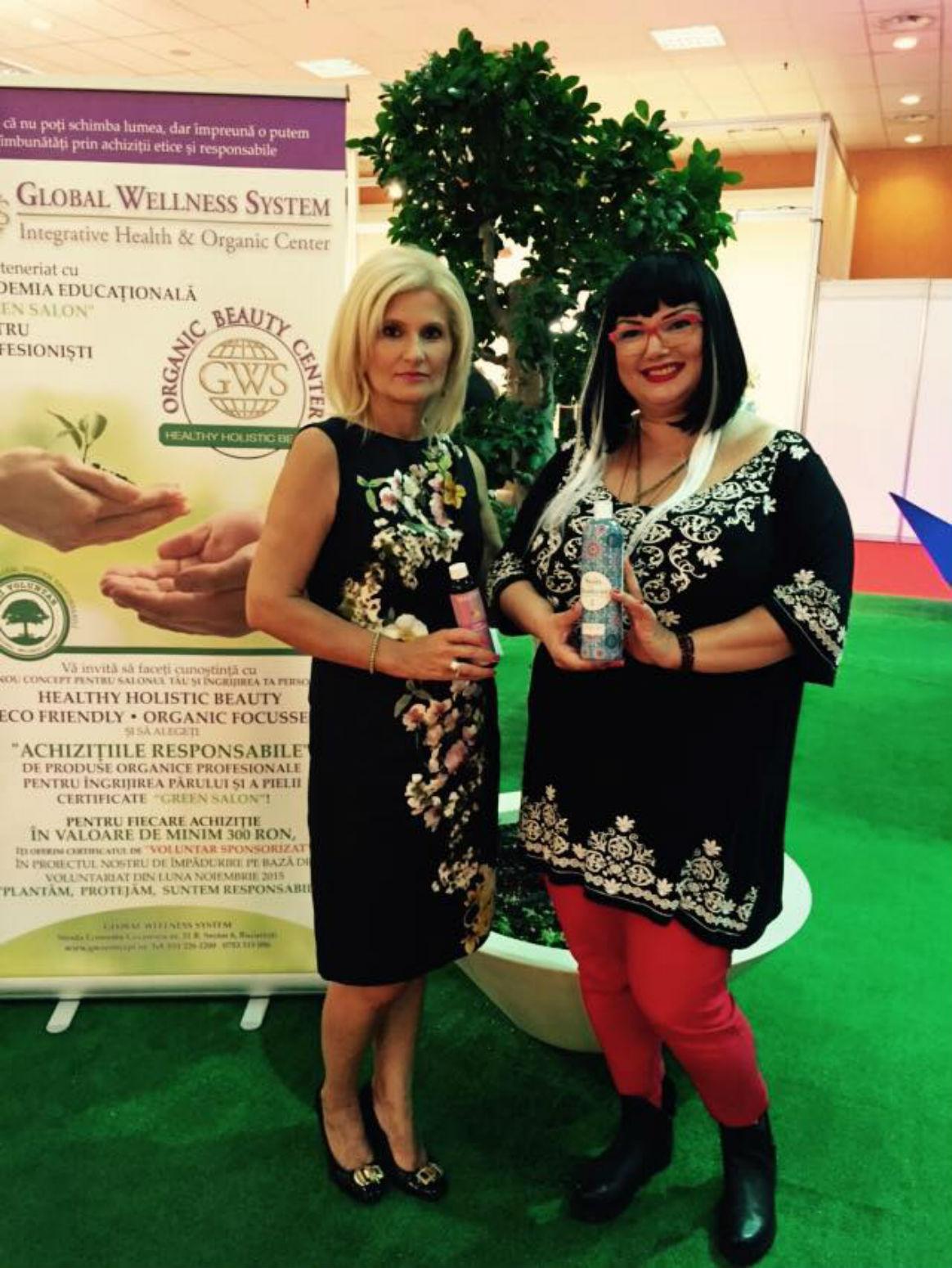 Ozana Barabancea - Mândră de proiectul ei cu Global Wellness System